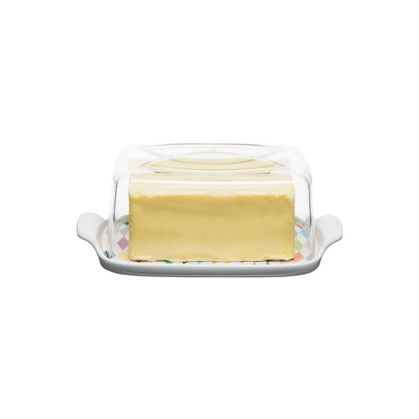 Maselniczka   Check Butter Dish