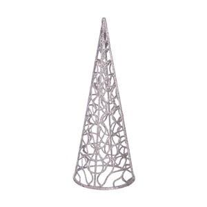 Dekoracja świąteczna w kolorze srebra Ixia Conic