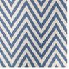 Dywan wełniany Zig Zag Light Blue, 90x60 cm