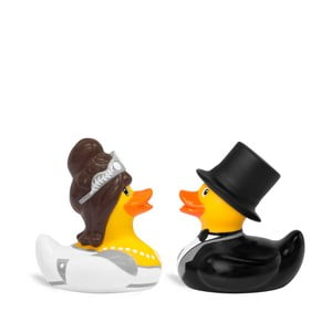 Kaczka do kąpieli Bud Ducks Mini Bride & Groom