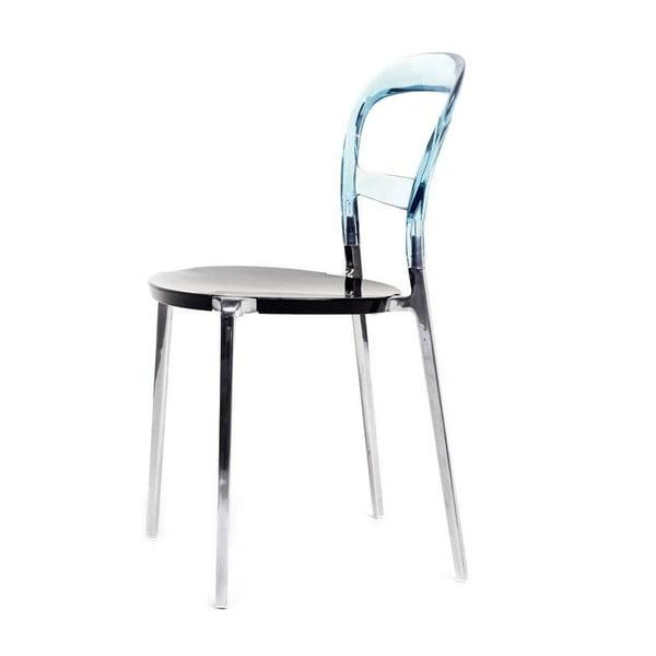 Krzesło Thalassa Alu Blue/Black