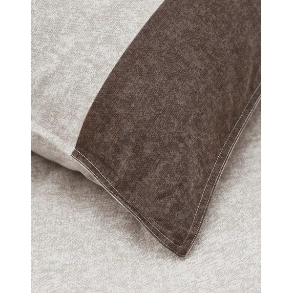 Beżowa poszwa na kołdrę Marc O'Polo Sen, 240x220 cm
