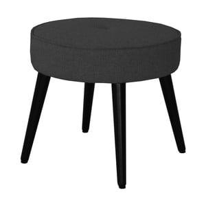 Czarny stołek RGE Filip