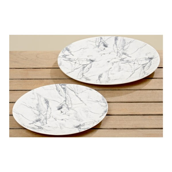 Zestaw 2 talerzy Marble Plate