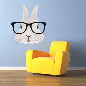 Naklejka ścienna Hipster Rabbit