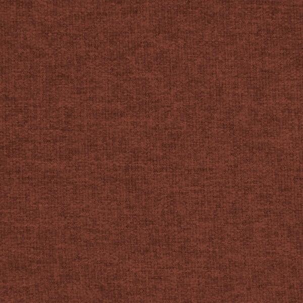 Ciemnoczerwony fotel z naturalnymi nogami Vivonita Kennet
