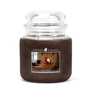 Świeczka zapachowa w szklanym pojemniku Goose Creek Przytulny dom, 0,45 kg