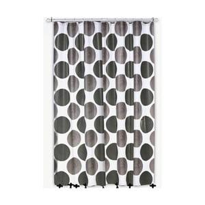 Zasłona prysznicowa Lamara, szara, 180x200 cm