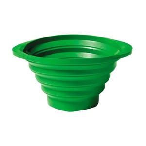Składany durszlak Strained 23 cm, zielony