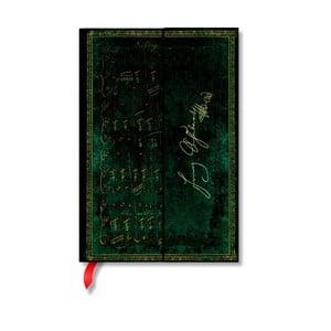 Notes w twardej oprawie Paperblanks Schubert, 10x14cm