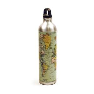 Butelka na wodę z korkiem Gift Republic Map