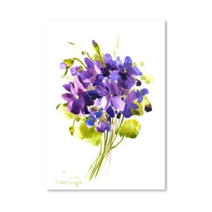 Plakat Little Violets (projekt Suren Nersisyan)