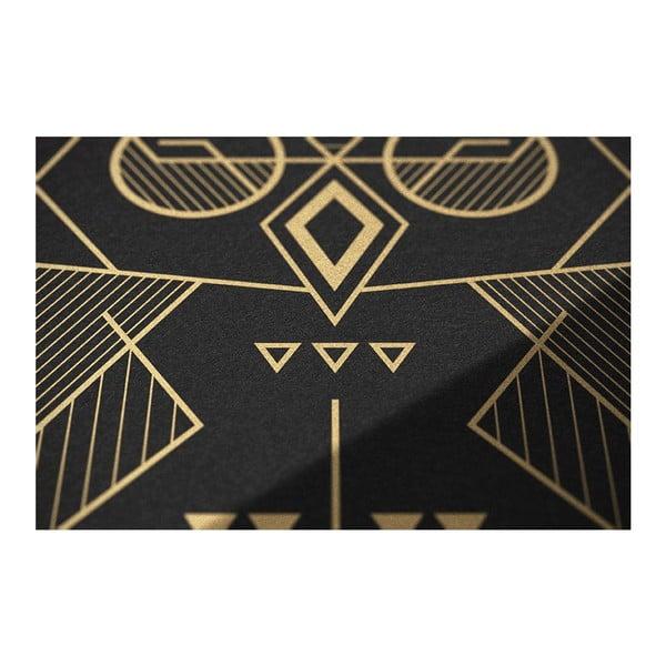 Plakat Owl Black/Gold, 50x70 cm