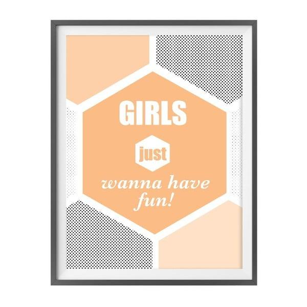Plakat muzyczny Girls Just Wanna Have Fun