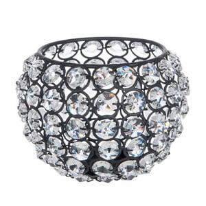 Świecznik Glass Ball Gliter, 13,5x13,5x10 cm