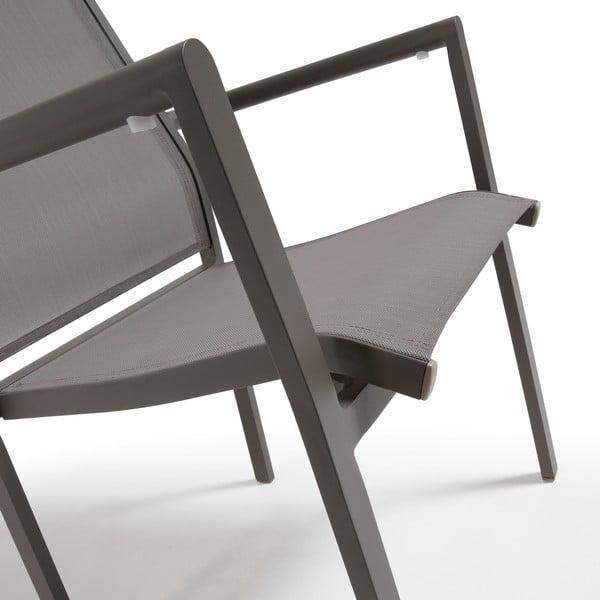 Fotel do użytku zewnętrznego Renna Taupe