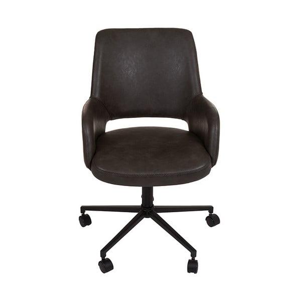 Szare krzesło biurowe z podłokietnikami Santiago Pons Avedis