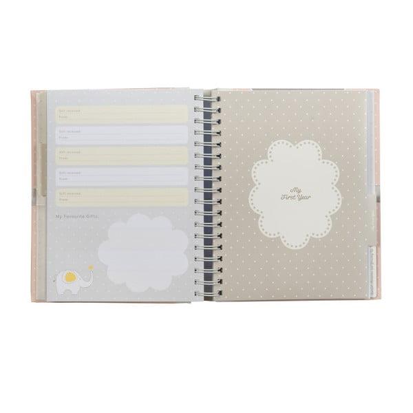 Książka pamiątkowa dla córki Baby Journal