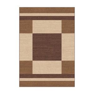 Brązowo-beżowy dywan Universal Boras Brown, 57x110cm