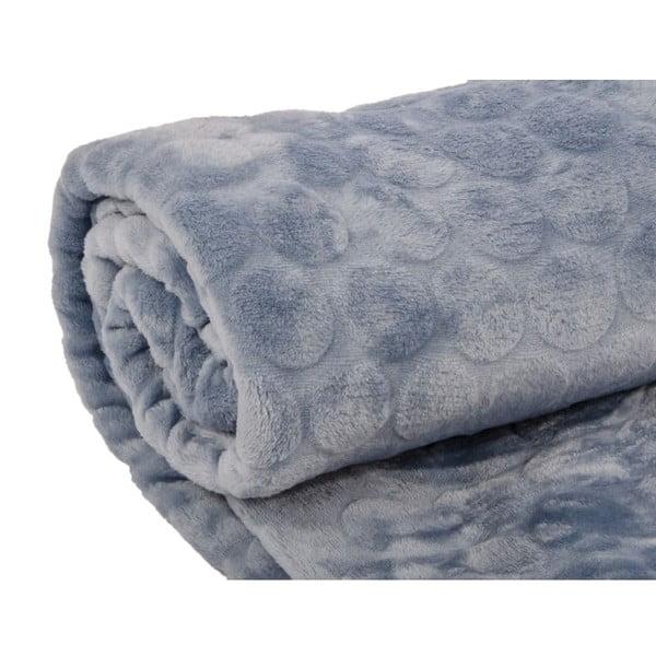 Pled Softy Bleu, 125x150 cm