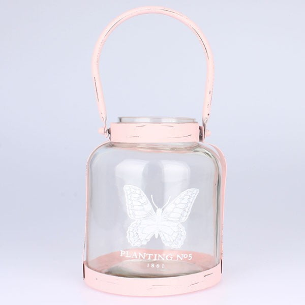 Lampion Butterfly Pink