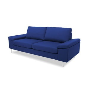 Niebieska sofa dwuosobowa VIVONITA Nathan
