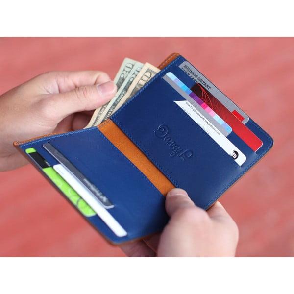 Danny P. skórzany portfel Pocket z kieszenią na iPhone 5 Cognac