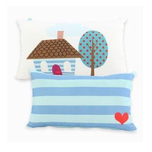 Bawełniana poszewka na poduszkę Mr. Fox Happy Homes 50x30 cm