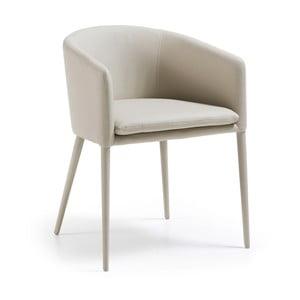 Jasnoszare krzesło La Forma Harmon