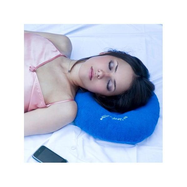 Poduszka z wbudowanym głośnikiem hi-Sleep, niebieska
