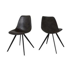 Czarne krzesło Canett Liva