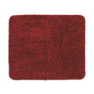 Czerwony dywanik łazienkowy Kela Livana