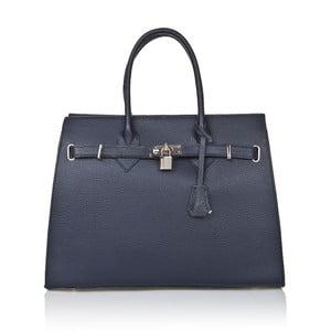 Niebieska torebka skórzana Giorgio Costa Perugia