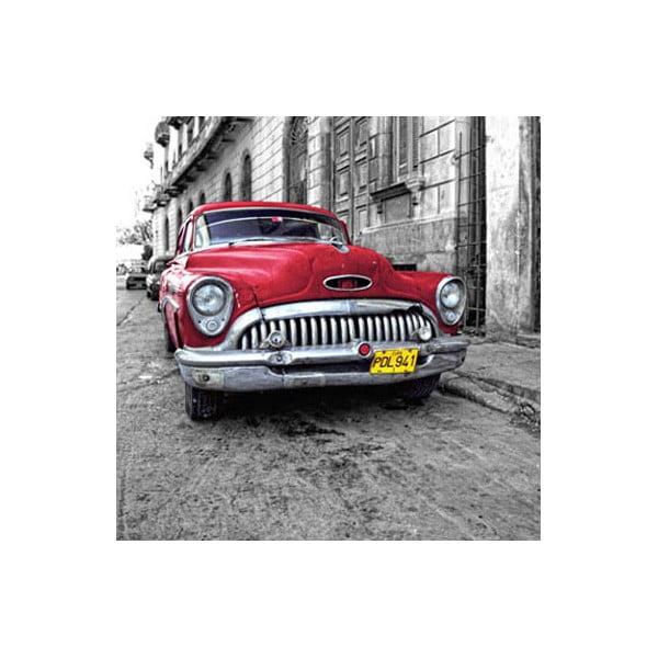 Obraz na szkle Auto, 50x50 cm