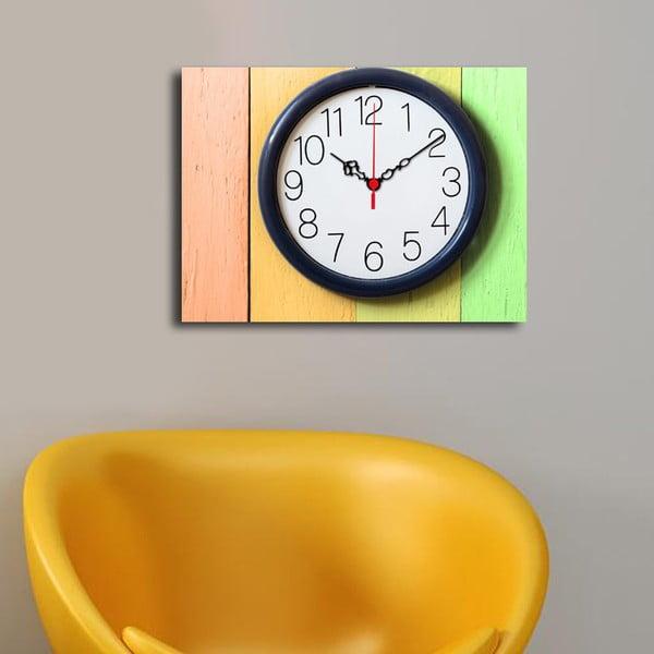 Obraz z zegarem Na Ścianie