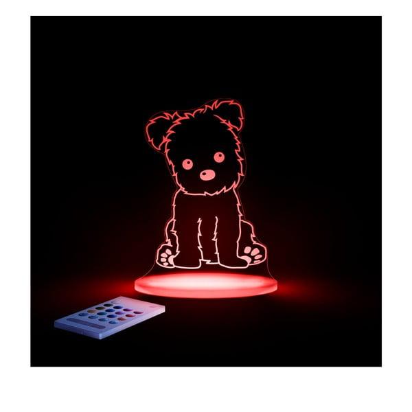 Dziecięca lampka nocna LED Aloka Piesek
