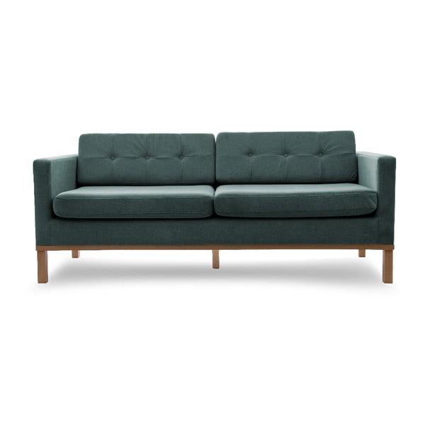 Sofa trzyosobowa VIVONITA Jonan Light Blue, naturalne nogi