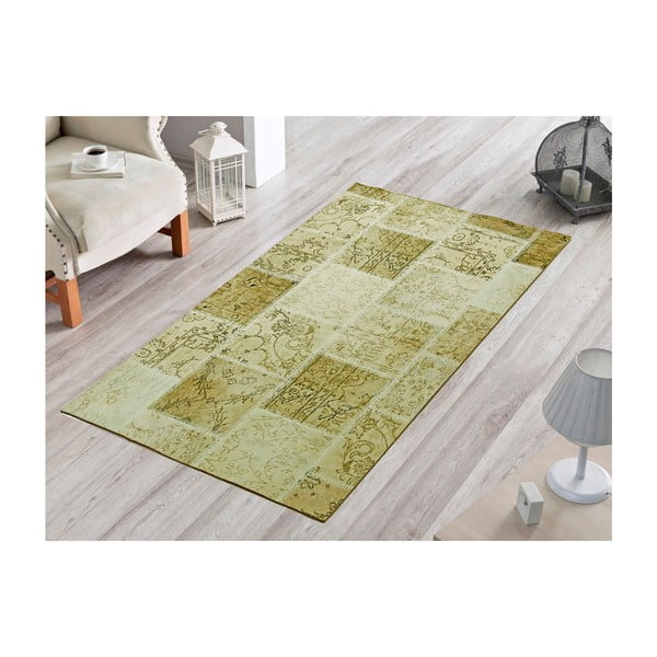 Dywan Light Green Patchwork, 80x120 cm