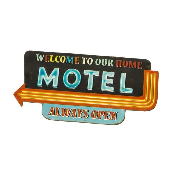 Tablica ścienna Sign Motel, 58,5x30,5cm