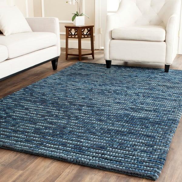 Dywan Mallawi 121x182 cm, niebieski