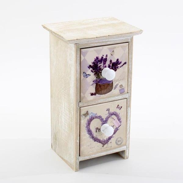 Pudełko na biżuterię Lavender Deco