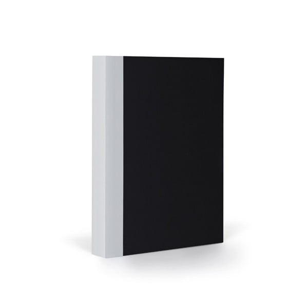 Notes FANTASTICPAPER A6 Black/Cool Grey, w linie
