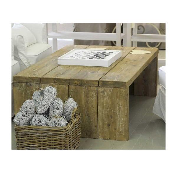 Stolik z drewna pozyskanego z recyklingu Old Wood, 86x128 cm