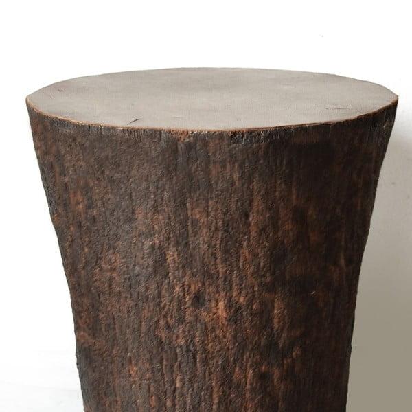 Palmowy stolik Brown