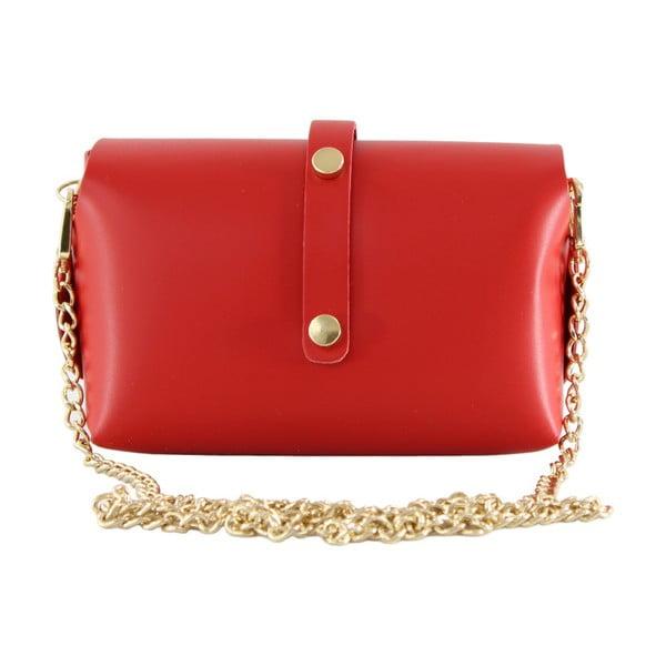 Czerwona torebka skórzana Loira