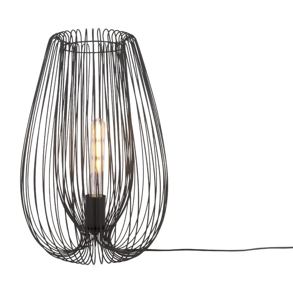 Czarna lampa stołowa Leitmotiv Lucid Large