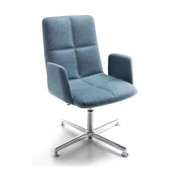 Krzesło biurowe Uno Zago, zielono-niebieskie