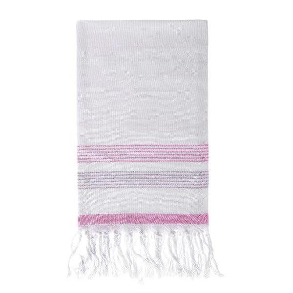 Ręcznik hammam Berrak Pink, 80x160 cm
