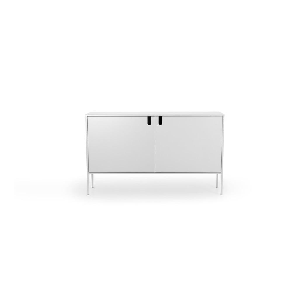 Biała komoda Tenzo Uno, szer. 148 cm