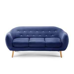 Sofa trzyosobowa Constellation Navy Blue/Grey/Natural